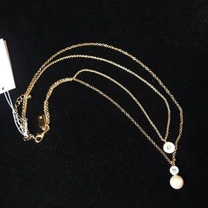 Kate Spade Gold Pearly Delight Necklace